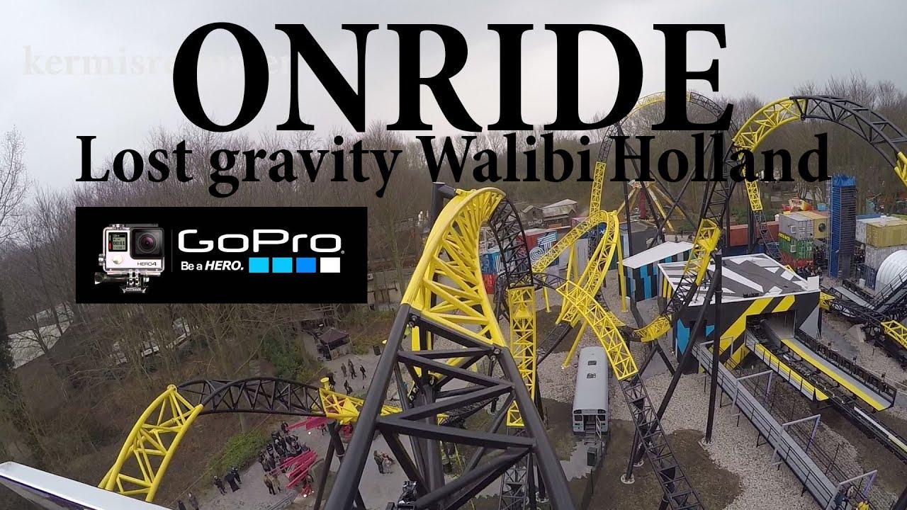Lost Gravity Onride Walibi Holland 2016