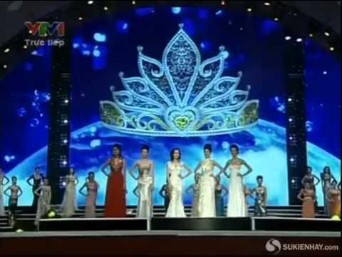Hoa Hậu Hà Phương Lộ Hàng - Chung kết hoa hậu Việt Nam 2013