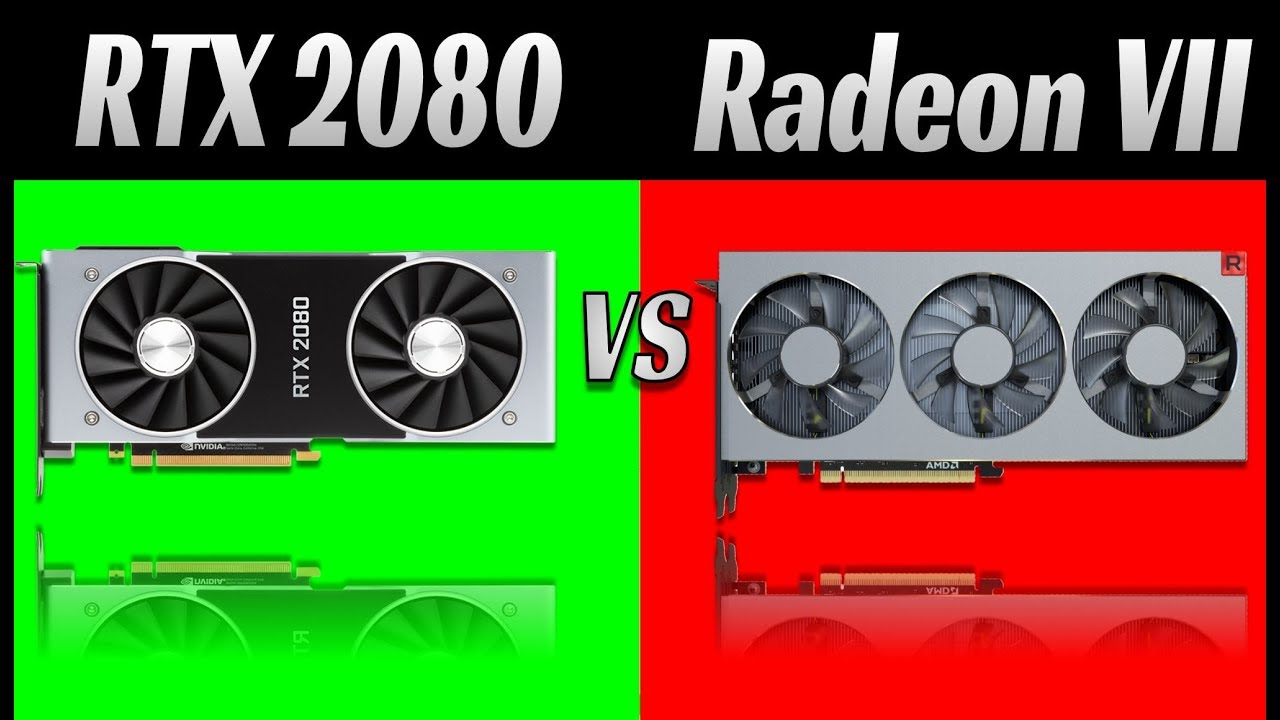 AMD Radeon RX VII vs Nvidia RTX 2080: 1080p, 1440p, 2160p [4K]  12 Games  and 36 tests