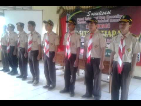 Yel yel Pramuka Indonesia (SMA 1 Bojong)