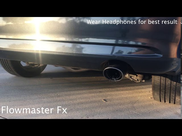 flowmaster 71225 exhaust muffler youtube