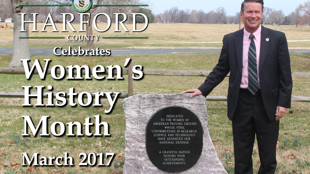 Harford County Celebrates Women's History Month 2017 - YouTube