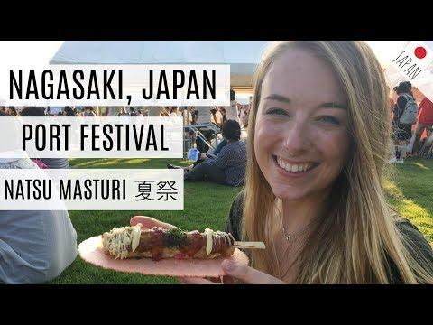 Nagasaki Port Festival, NatsuMatsuri // LIFE IN JAPAN | Mayllie