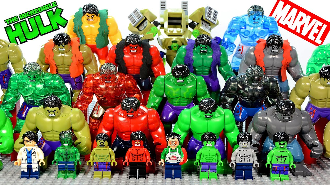 Incredible LEGO Hulk™ Minifigure & Big Figure Complete ...