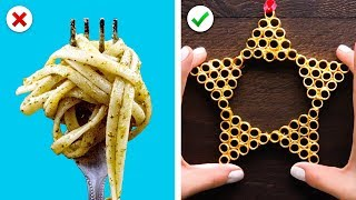 Turn Pasta into Christmas Decor, Plus More DIY Christmas Decoration Ideas