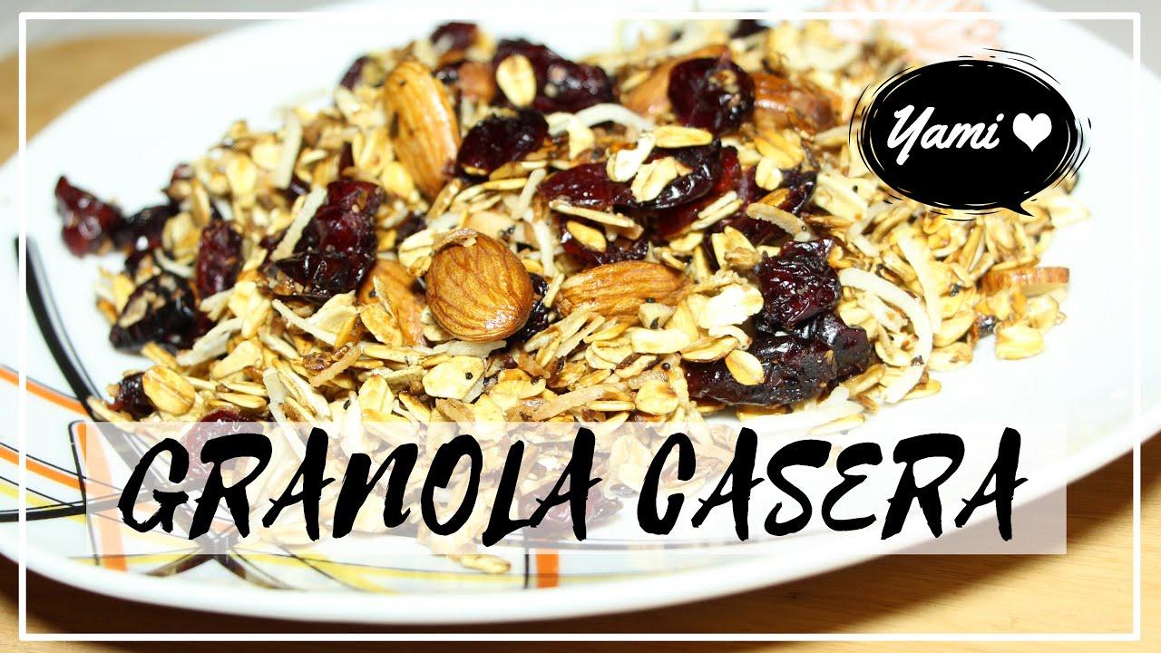 Granola casera sin horno homemade granola recipe femlife granola casera sin horno homemade granola recipe femlife forumfinder Choice Image