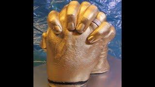 3D Hände - Gipsabdruck mit Abformmasse ** NEUES VIDEO BEI KANAL 43 !!