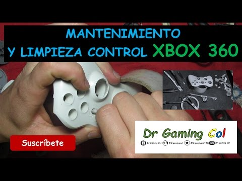 9 - Limpieza y Mantenimiento General - Maintenance, Cleaning Xbox 360 Controller