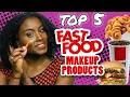 TOP 5 FAST FOOD BEAUTY TRENDS - Makeup Products // Fringe Binge | HISSYFIT