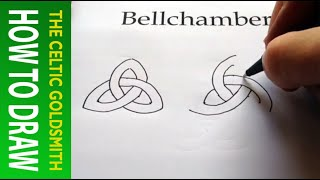 How to Draw Celtic Patterns 106 - Triskele / Triskelion Freehand 1 of 1