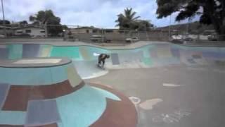 Old man skateboarding! 1 year skateboarding part 2 Hawaii kai skatepark