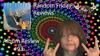 Yes RFR (Random Friday Reviews) is back even though it's Monday... ...