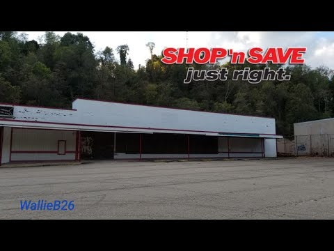Abandoned Shop N Save & Dead Plaza Pittsburgh, Pa