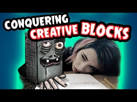 how-to-overcome-creative-block-//-monster-brain-|-snarled