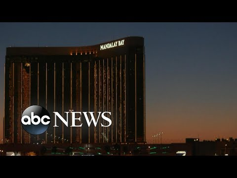 New bodycam video shows dramatic moments of  Las Vegas shooting
