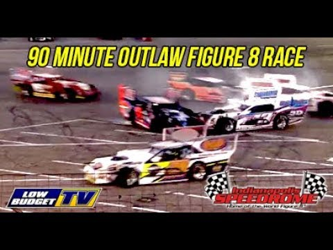 90 Minute Outlaw Figure 8 Race - Indianapolis Speedrome
