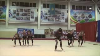 """""""БАБЫ ЯГИ"""".  Акробатик шоу-балет """"MODES""""."""