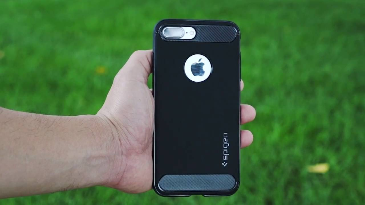 brand new 870f3 32450 Spigen Rugged Armor Case for iPhone 7 Plus