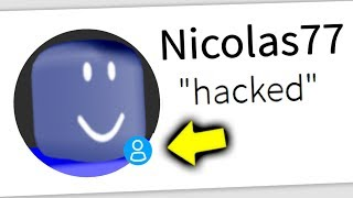 my fans find out i got HACKED... (roblox)