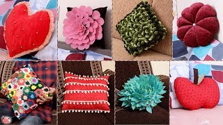 10 Creative Home Cushion Ideas !!! Beautiful Cushion Making || Useful Craft