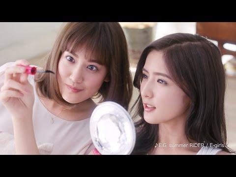 E-girls・藤井姉妹、新CMでアドリブじゃれあい披露 コーセー『ファシオ』新CM「ファシオ みて!パノラマカール」篇
