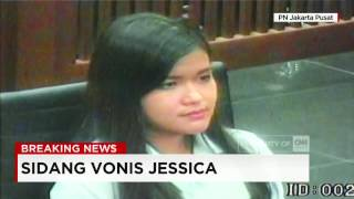 ketika hakim jatuhkan vonis jessica 20 tahun penjara