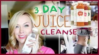MY FIRST JUICE CLEANSE! Lose weight in 3 days!