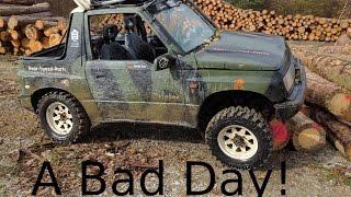 A bad day... Suzuki Vitara Offroad