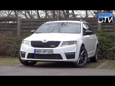 2014 Skoda Octavia Rs Combi 220hp Drive Sound 1080p Youtube