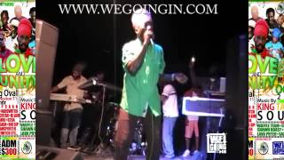 Sizzla Live 2015 @ #WGI Love And Unity Show In Cockburn Pen Kingston Jamaica