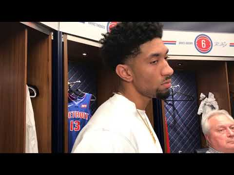 Pistons' Christian Wood On Facing Off Against Giannis Antetokounmpo
