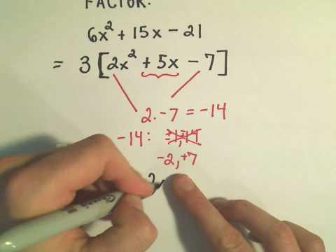PatrickJMT » factoring