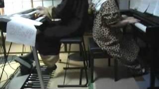 スタジオジブリメドレー / ピアノ&エレクトーン演奏 thumbnail