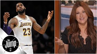 Lakers don't need a reality show, because they are one - Rachel Nichols | The Jump