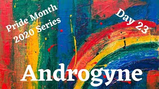 Pride Month Series Day 23: Androgyne