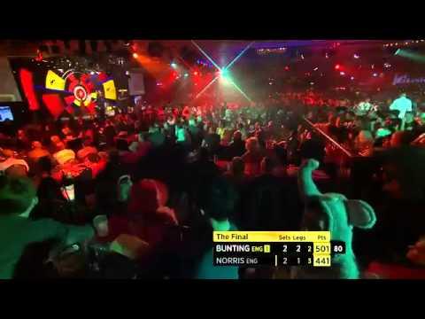 Lakeside BDO World Darts Championship 2014   Final  Stephen Bunting VS Alan Norris