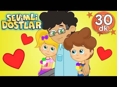 Babalar Günü şarkısı 💙 Canım Babacığım | Sevimli Dostlar Bebek Şarkıları | Adisebaba TV Kids Songs