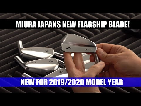 Miura Golf Japan's New TB-Zero Blade Irons Replace The MB-5003!