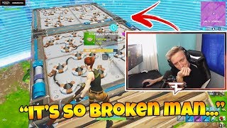 Tfue SHOWS THE MOST OVERPOWERED TRAP EXPLOIT EVER!! (Double-Sided Trick) Fortnite Funny Moments 197