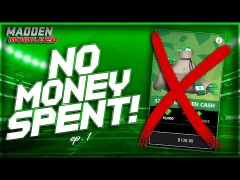 Madden Mobile 20 No Money Spent Is BACK EP 1!!