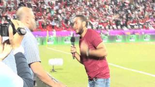 "Tamer Hosny Ana Masry""Egypt VS Brazil Match-انا مصري""مباراه مصر و البرازيل"