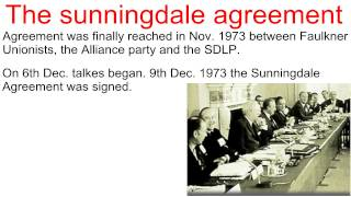 Sunningdale Agreement 1973-4 Presentation video