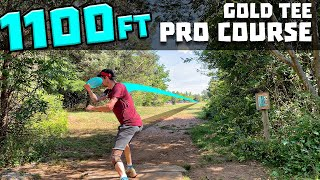 Advanced Player plays Gold Pro Tee's