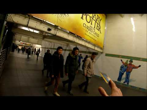 NYC Subway Preaching - Busiest Subways in NYC - 42st Your Videos on VIRAL CHOP VIDEOS