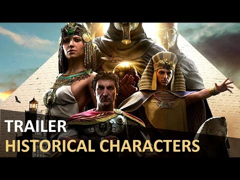 Assassin's Creed Origins - Introduction to Cleopatra, Ceasar and Ptolemy | Gamescom 2017
