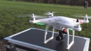rc dji phantom with full hd 1080p waterproof mini sport dv camera