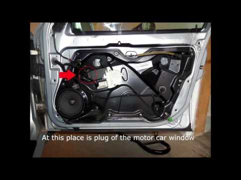 Replacement of interior doors Toledo 2Leon mk1-PART 1, Door lock repair,door glass replacment