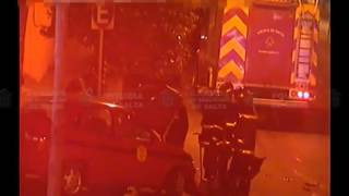 Video: Tremendo choque entre una Camioneta y un Taxi