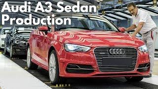 Audi A3 Sedan Production thumbnail