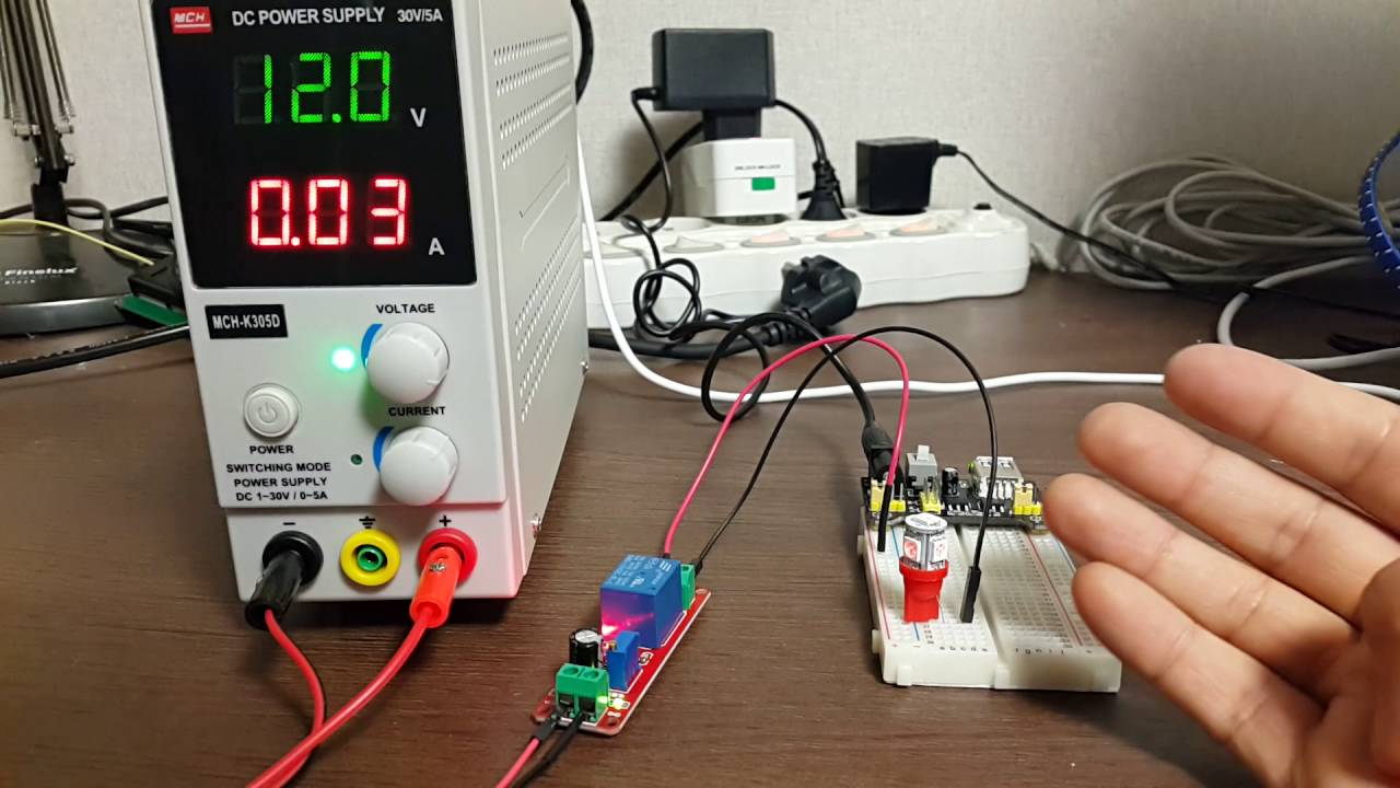delay timer adjustable relay module ne